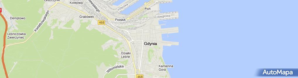 Zdjęcie satelitarne Upadłość konsumencka Gdynia - Kancelaria Fenix