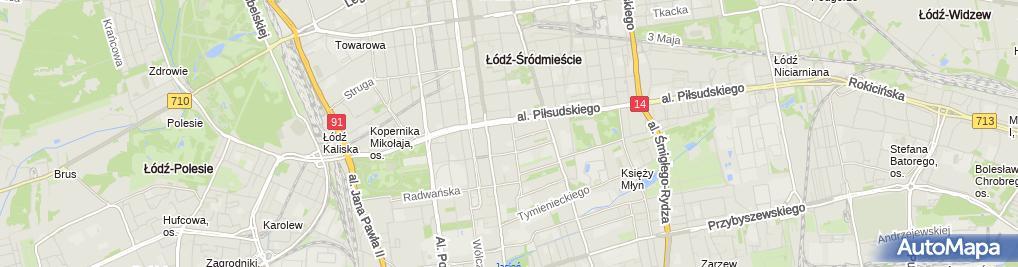 Zdjęcie satelitarne Upadłość konsumencka Łódź - Kancelaria Fenix