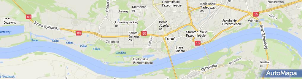 Zdjęcie satelitarne Kancelaria notarialna Izabela Gasin