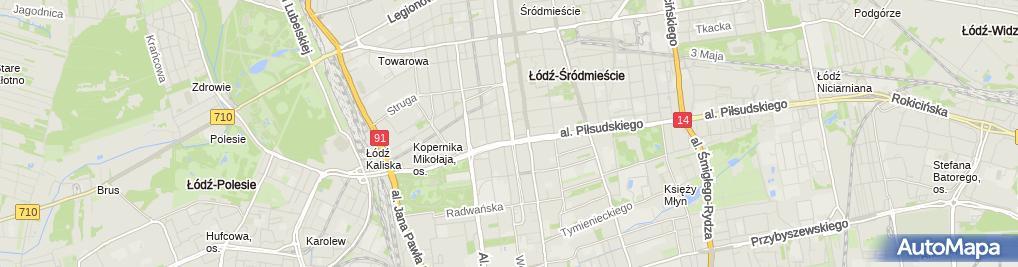 Zdjęcie satelitarne Kancelaria Notarialna Ziółkowska Jankowska-Kmieć Notariusze