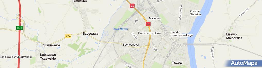 Zdjęcie satelitarne Eldorado Kantor Wymiany Walut