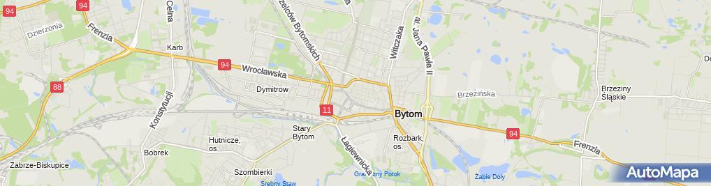 Zdjęcie satelitarne Gazdówka