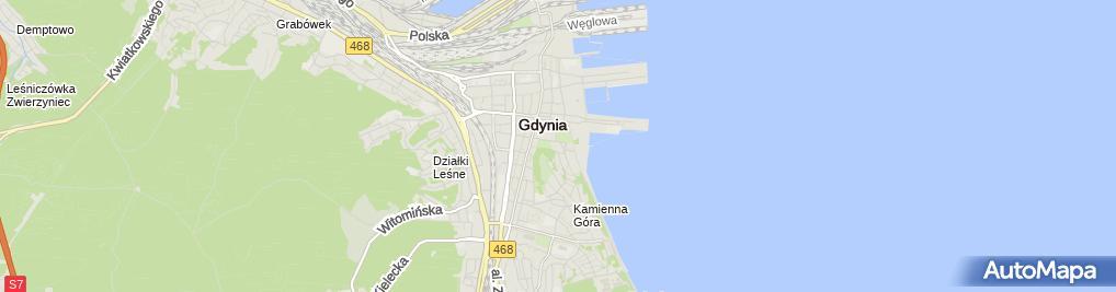 Zdjęcie satelitarne Kasyno