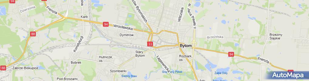 Zdjęcie satelitarne Cafe Bristol