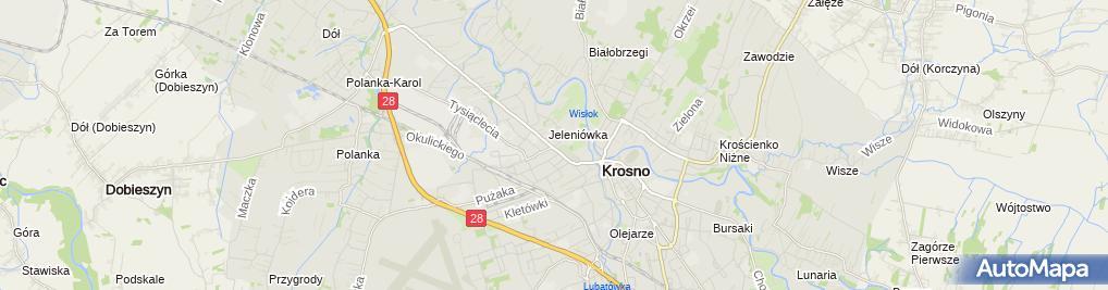 Zdjęcie satelitarne Jagusia