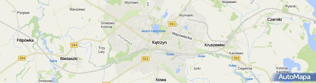 Zdjęcie satelitarne Kawiarnia