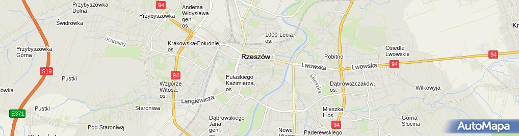 Zdjęcie satelitarne Polonia
