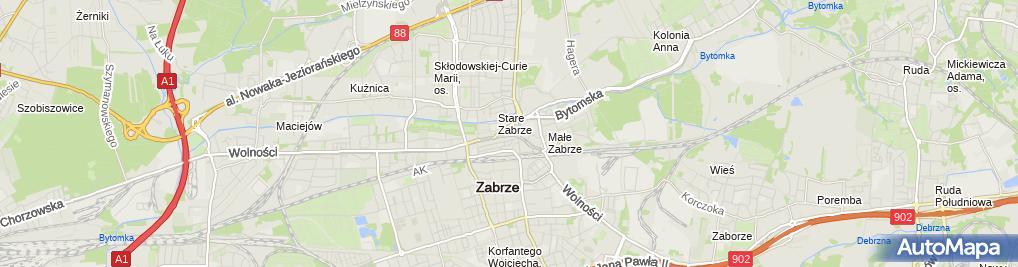 Zdjęcie satelitarne Sonia-Cafe