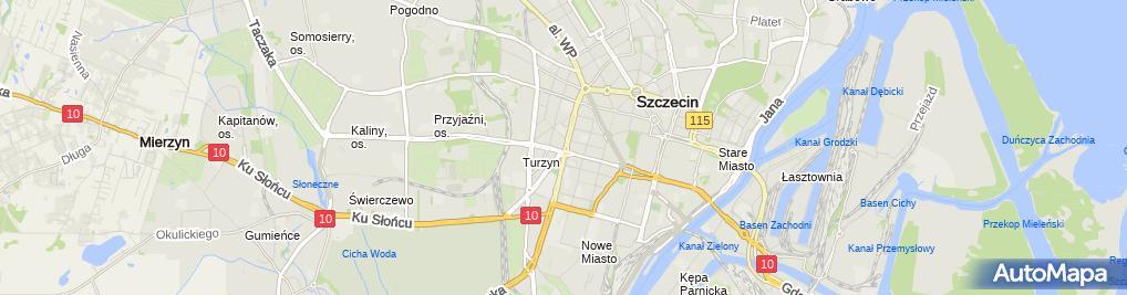 Zdjęcie satelitarne KFC - Restauracja