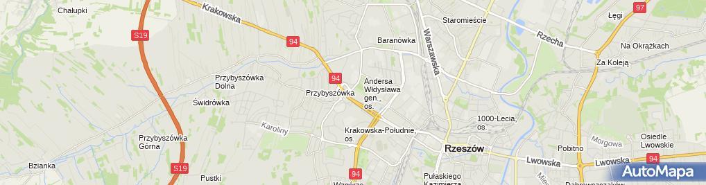 Zdjęcie satelitarne KiK - Sklep odzieżowy