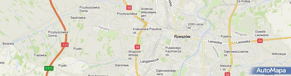 Zdjęcie satelitarne Kiosk
