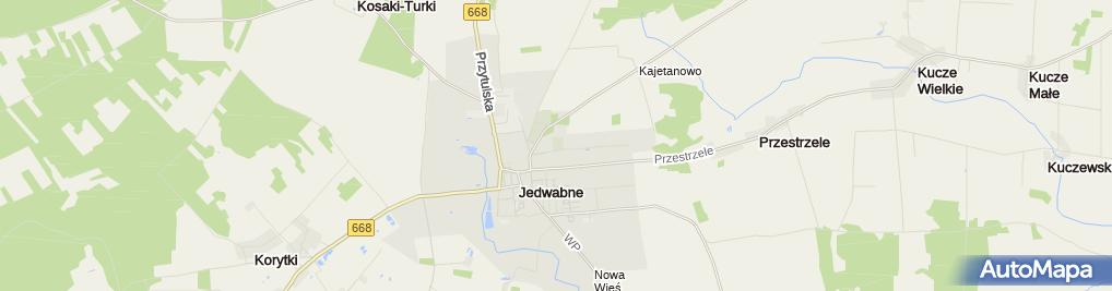 Zdjęcie satelitarne Cmentarz żydowski Kirkut