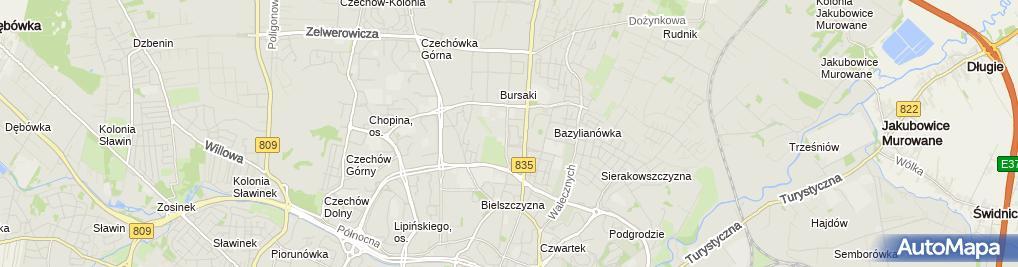 Zdjęcie satelitarne KLIMA-SOFT