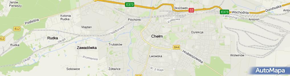 Zdjęcie satelitarne Kominiarz Zakład Wentylacyjno Kominiarski