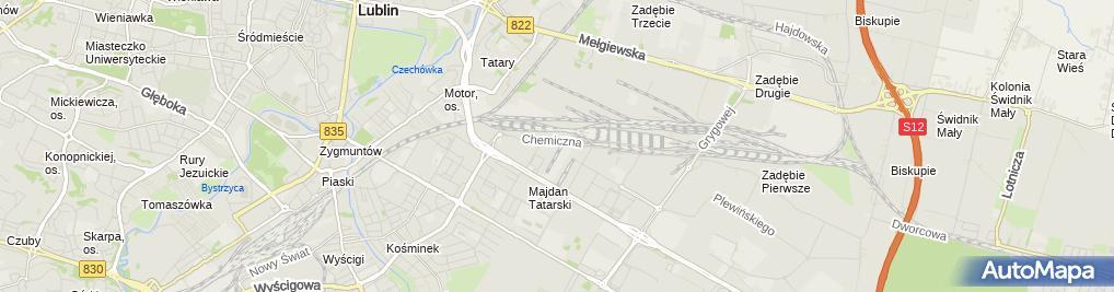 Zdjęcie satelitarne Stacja serwisowa TT-Thermo King