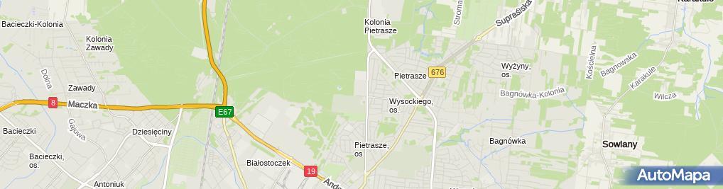 Komfort Sklep, Wysockiego 67, Białystok, godziny otwarcia