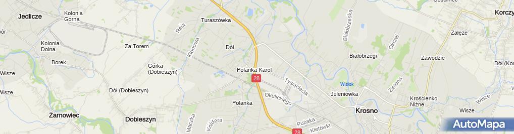 Zdjęcie satelitarne Komfort - Sklep