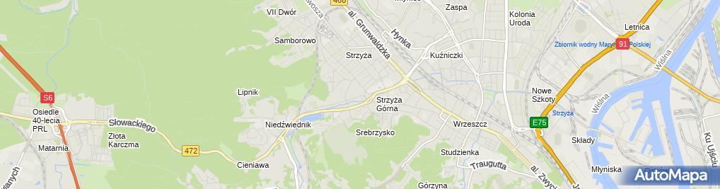 Zdjęcie satelitarne Camino.pl