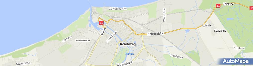 Zdjęcie satelitarne Księgarnia Domowa