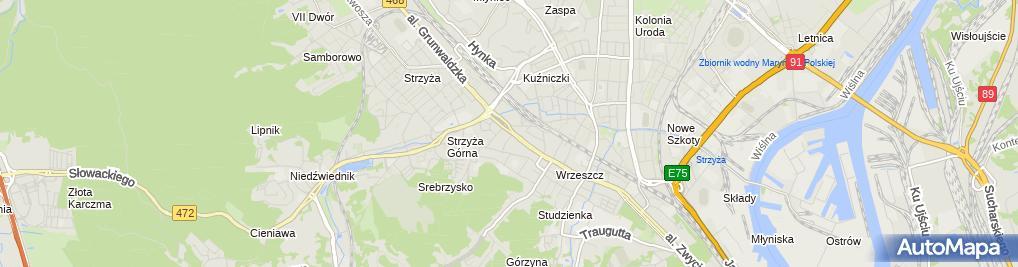 Zdjęcie satelitarne Księgarnia Edukacja