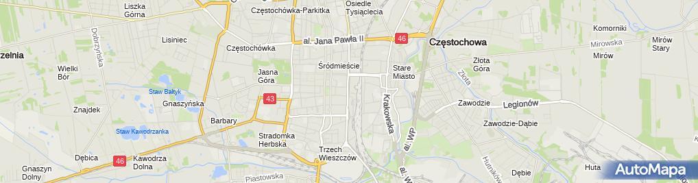Zdjęcie satelitarne Księgarnia Leksykon