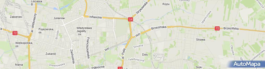 Zdjęcie satelitarne Aldona i Ania