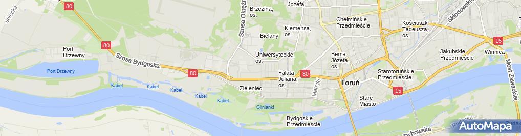 Zdjęcie satelitarne Anna Kruczynska Kwiaciarnia Sympatia Anna Kruczynska Tomasz Grimnitz