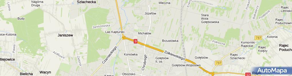 Zdjęcie satelitarne Frezja