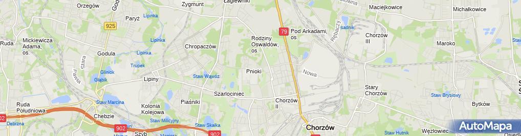 Zdjęcie satelitarne K. Kozłowska
