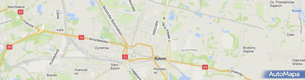 Zdjęcie satelitarne Mieleszczuk Krystyna