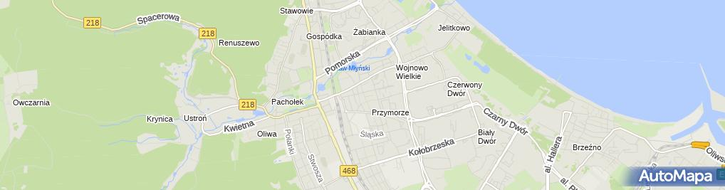 Zdjęcie satelitarne Drogerie Laboo Partner