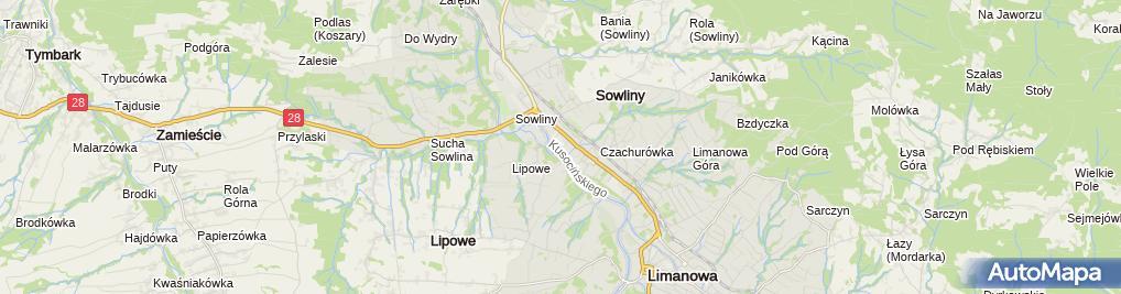 Zdjęcie satelitarne IV Liceum Ogólnokształcące Im. Kard. Stefana Wyszyńskiego