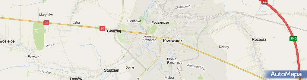 Zdjęcie satelitarne Liceum Ogólnokształcące Im. Króla Władysława Jagiełły