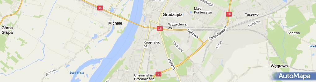 Zdjęcie satelitarne Liceum Plastyczne Im. Józefa Czapskiego