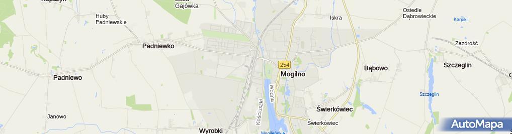 Zdjęcie satelitarne Mogileńska Szkoła Realna Liceum Ogólnokształcące Dla Dorosłych