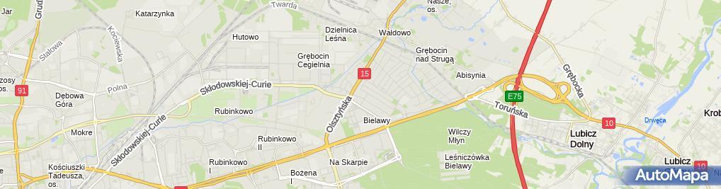 Zdjęcie satelitarne Lidl - Supermarket