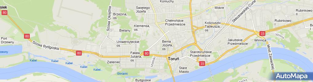 Zdjęcie satelitarne MOSiR TOR-TOR