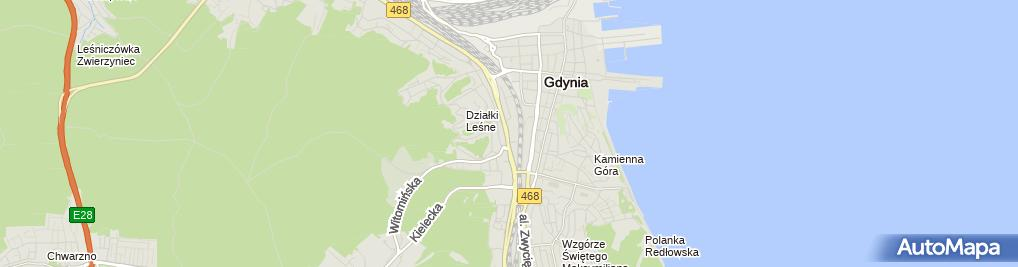Zdjęcie satelitarne Orlen