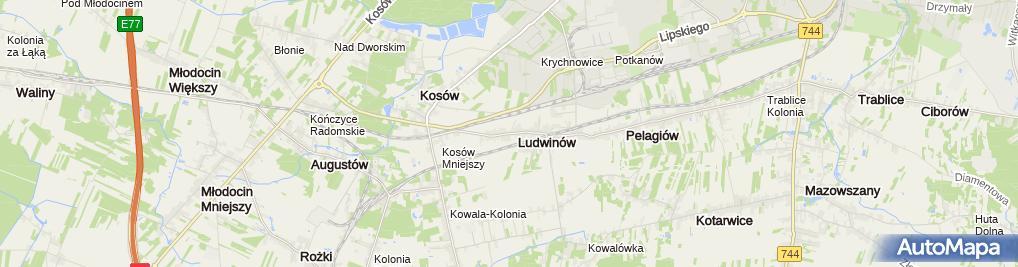 Zdjęcie satelitarne MK-Energy Realizacja inwestycji Marcin Kamiński