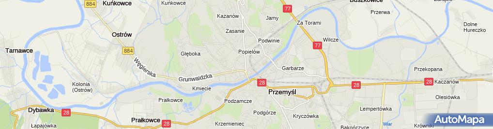 Zdjęcie satelitarne mBank - Oddział