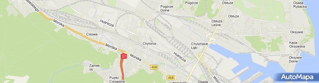 Zdjęcie satelitarne HORST Okucia i Akcesoria Meblowe
