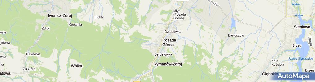 Zdjęcie satelitarne Masaże u Siręgów
