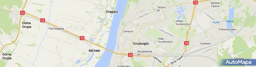 Zdjęcie satelitarne Delikatesy Mięsne Gzella