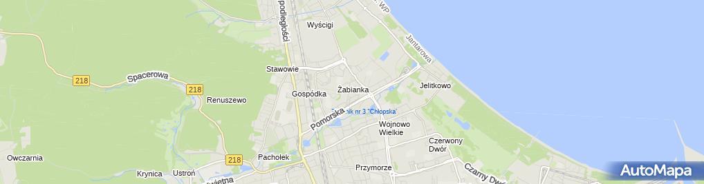 Zdjęcie satelitarne Firma Handlowo Usługowa Sklep Mięsno Wędliniarski