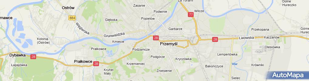 Zdjęcie satelitarne Sklep Mięsno Wędliniarski Lucyna - Łucja Witko