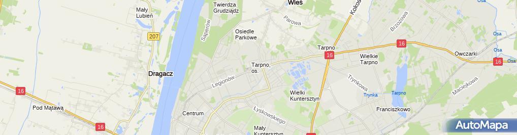 Zdjęcie satelitarne Sklep Mięsno Wędliniarski