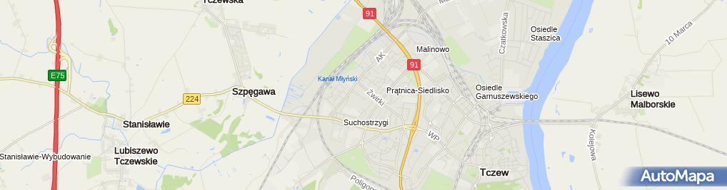 Zdjęcie satelitarne Sklep Mięsny Mito Mirela Ławrynowicz