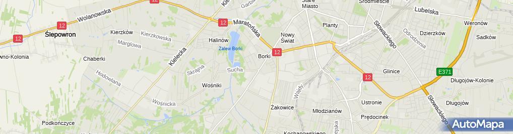 Zdjęcie satelitarne Milenium - Zakład bukmacherski