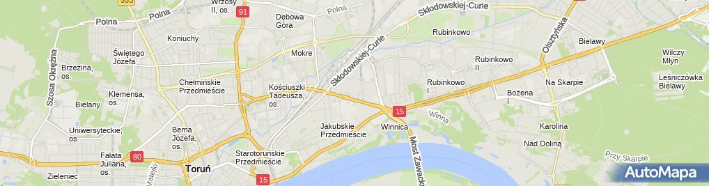 Zdjęcie satelitarne Mister Minit - Usługi