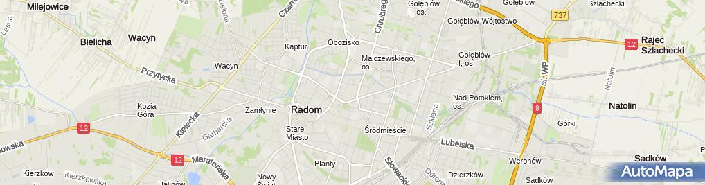 Zdjęcie satelitarne Molton - Sklep odzieżowy